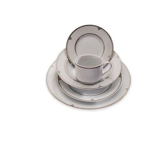 Dinnerware Set For 8 Service Porcelain Dishwasher Safe Plates Bowls Cup Dinning #DinnerwareSetFor8