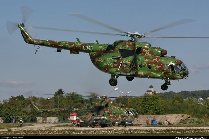 Vzdušné sily OS SR (Slovak Air Force) Mil Mi-17 - 0845