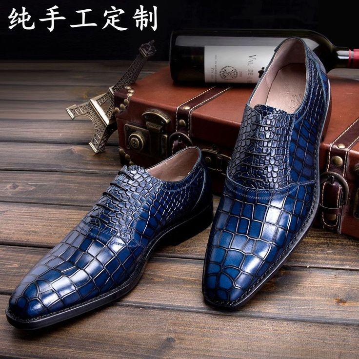 LUOANDA Goodyear handmade Italian leather shoes handmade men's ...