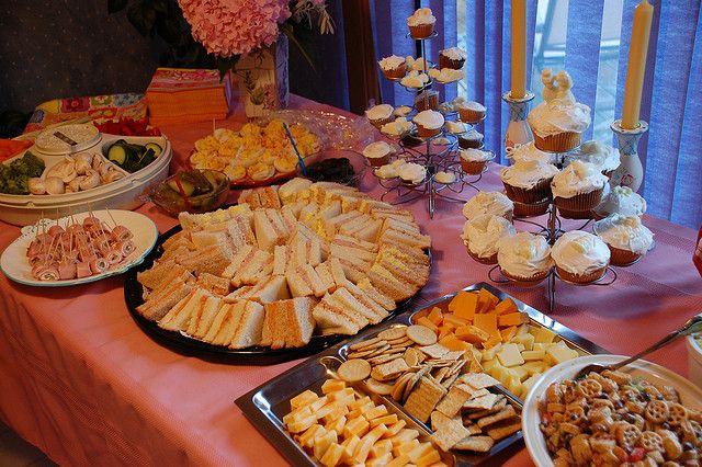 Baby Shower Finger Food Menu   Easy Finger Foods for Bridal Shower Ideas and Finger Food Recipes