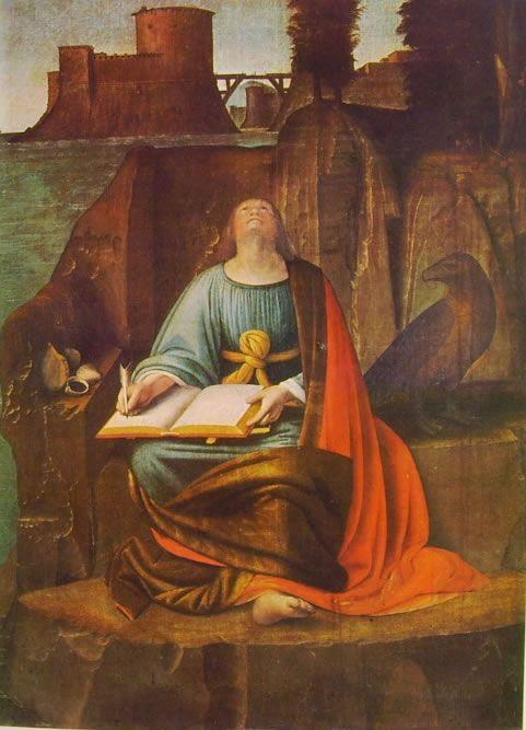 """San Giovanni Evangelista a Patmos"" del Bramantino"