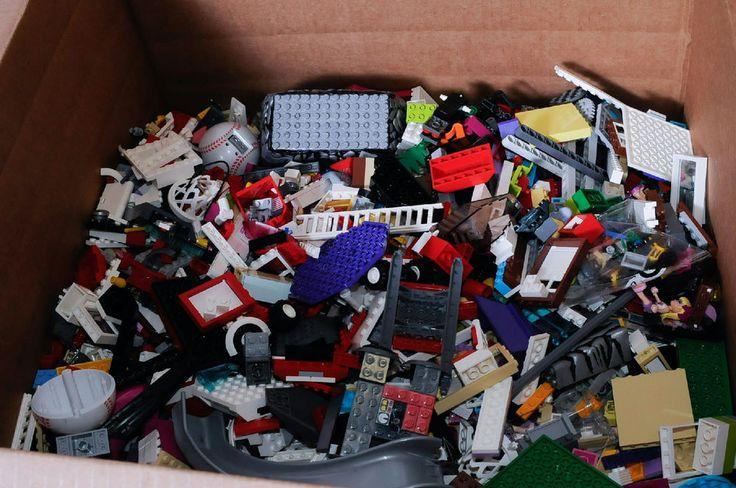 40 Pounds Assorted LEGOs Bulk Bricks Parts Pieces Specialty Items Lot #LEGO