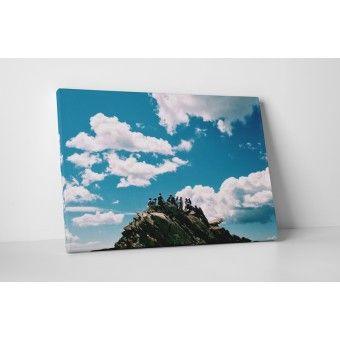 A hegy tetején : Vászonképek - KaticaMatrica.hu - A minőségi falmatrica és faltetoválás webáruház