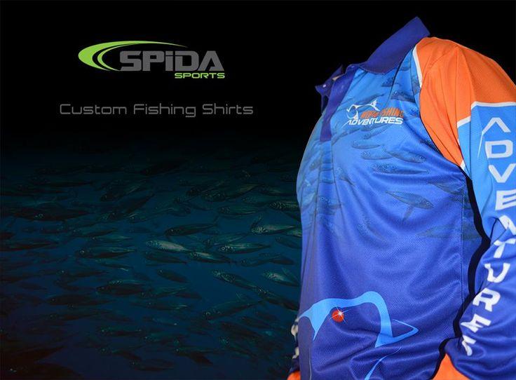 Weipa Fishing Adventures new sublimated fishing shirts. http://www.spidasports.com.au/sublimated-fishing-shirts/