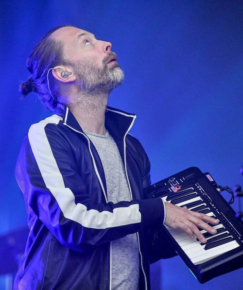 "msyorke: "" Thom Yorke at Outside Lands Festival, 2016 © Steve Jannings """
