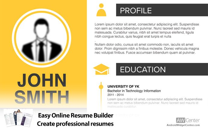 Easy Online Resume Builder Create Professional Resumes Online Resume Builder Online Resume Resume Builder