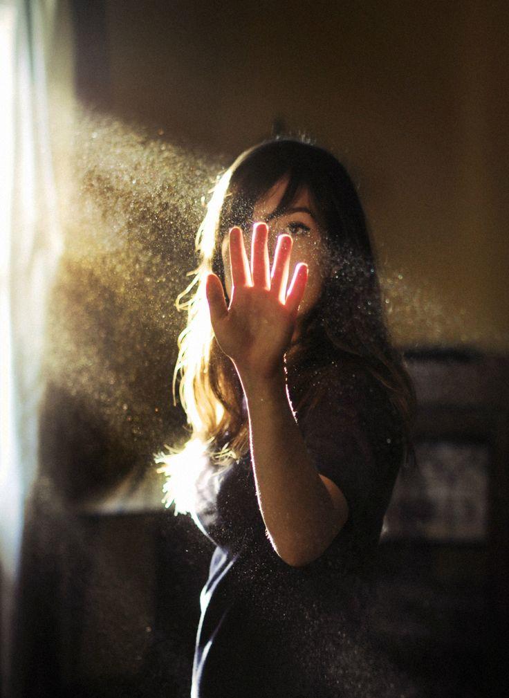 touching sunrays