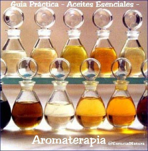 Aromaterapia: Guia practica – Aceites esenciales -