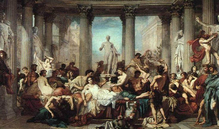 Thomas Couture – Rzymianie w czasie upadku