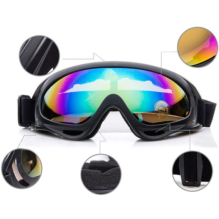Winter Snow Sports Skiing Snowboard Snowmobile Anti-fog Goggles Windproof Dustproof Glasses UV400 Skate Ski Sunglasses Eyewear Like if you remember #shop #beauty #Woman's fashion #Products #Classes