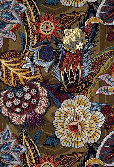 Schumacher Zanzibar in Cerulean - nice colours