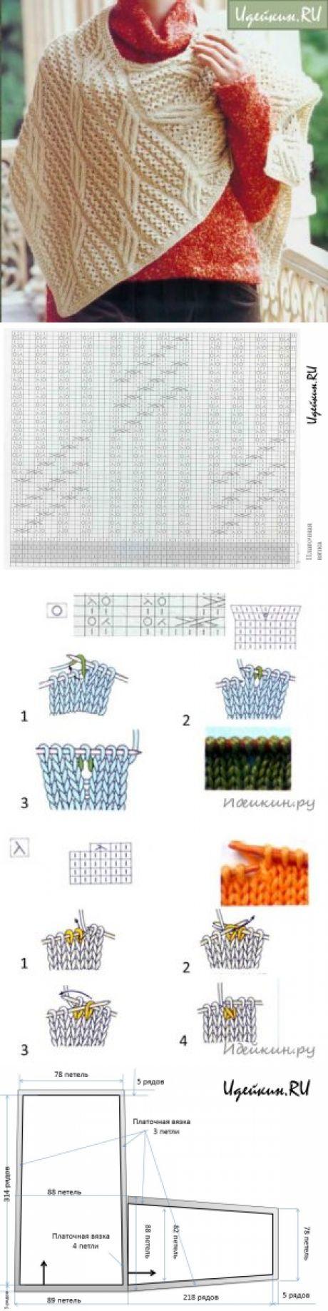 22 best Снуд спицами images on Pinterest   Knitting patterns ...