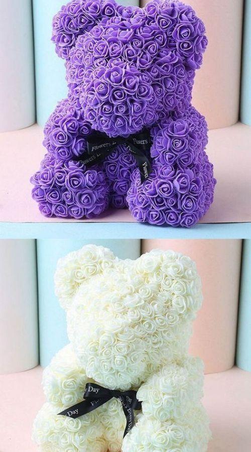 Romantic Rose Bear