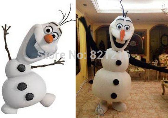 Disfraz de Olaf de Frozzen   -    Olaf Snowman costume via Aliexpress.com