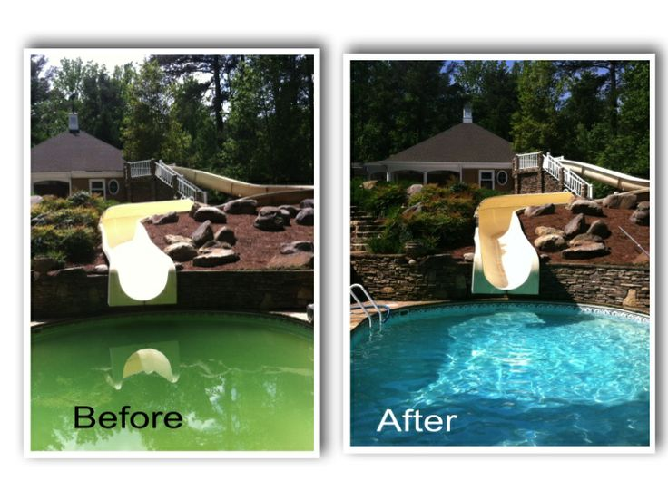 Pool Cleaning Before And After : Best images about pool pro services on pinterest