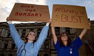 'The bursary is not a cost, but an investment in the health and wellbeing of our society'. #NHS #Nursing
