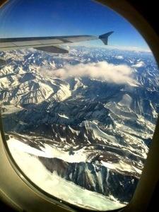 Chegando em Santiago do Chile