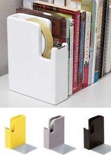 Bookend + Tape Dispenser - eclectic - desk accessories - other metro - by Caina