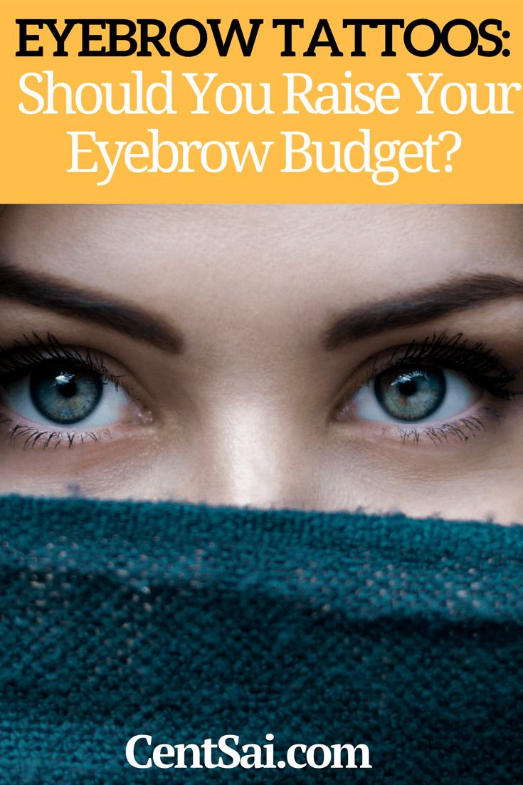 How Much Does It Cost to Get Your Eyebrows Tattooed ...