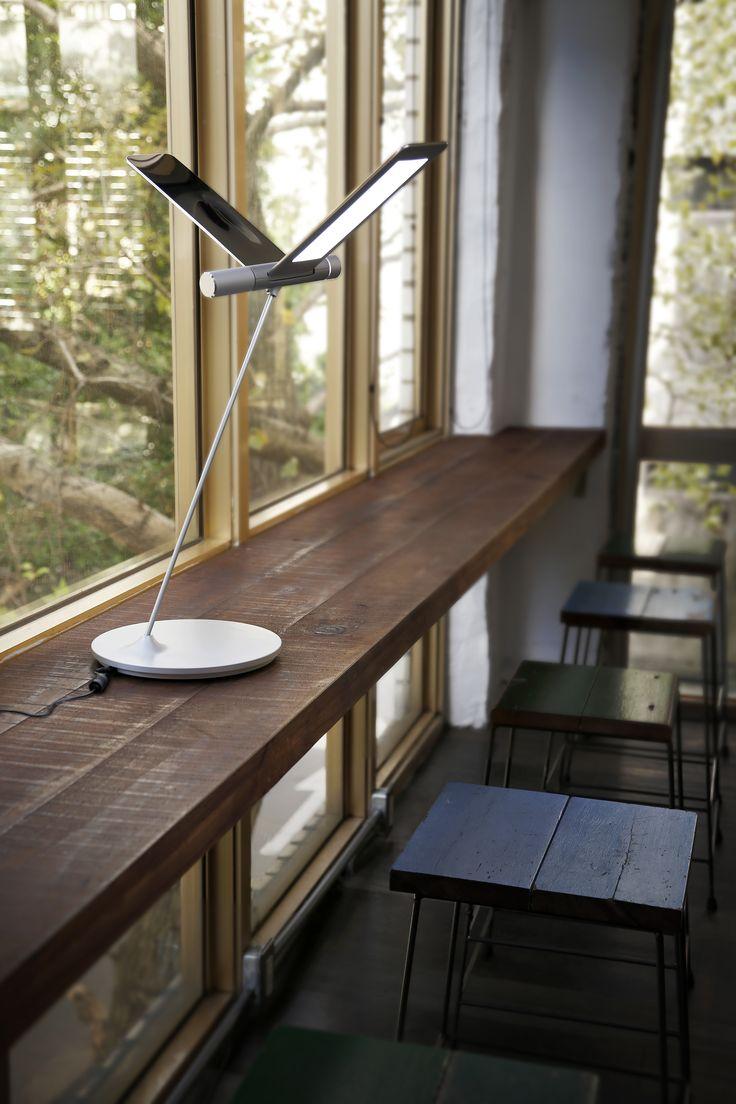 Decorates Cafe bar with Flying-alike designer lamp- QisDesign Seagull Light