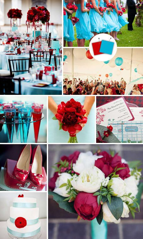20 Crazy Wedding Color Combos That Actually Work! | TheKnot.com