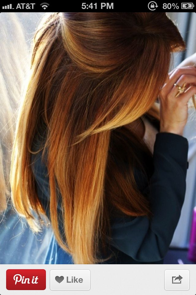 Dip Dying Brown Hair To Blonde Hair Pinterest Dips