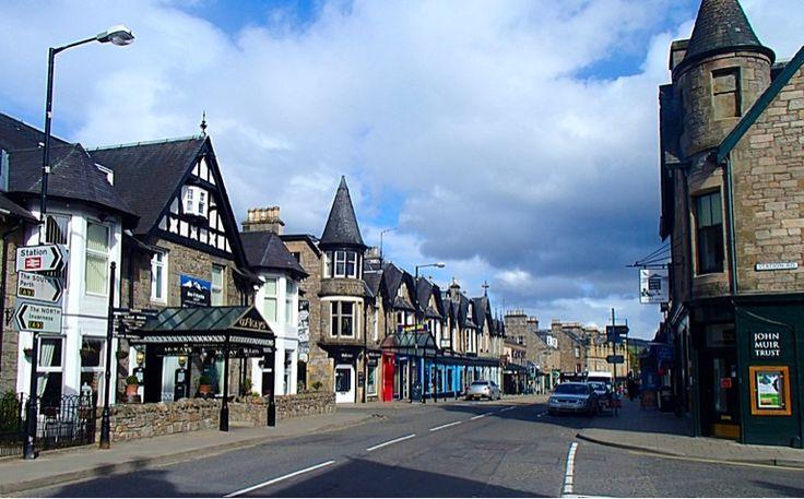 A little village in Scotland