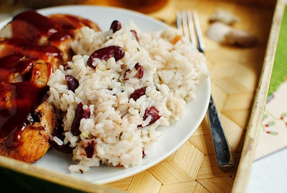 Jamaican Red Beans and Rice | Cuisine du Monde | Pinterest