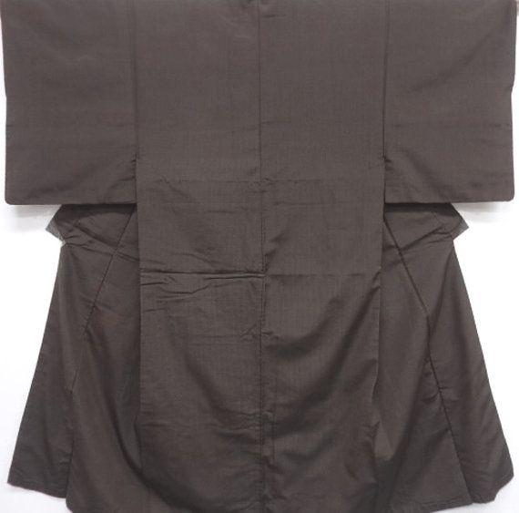 Mens Kimono Japanese Vintage / Tsumugi Silk by Orientalvintage88, £45.00