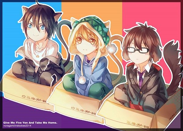 Yato, Yukine & Kazuma | Noragami | Anime & Manga