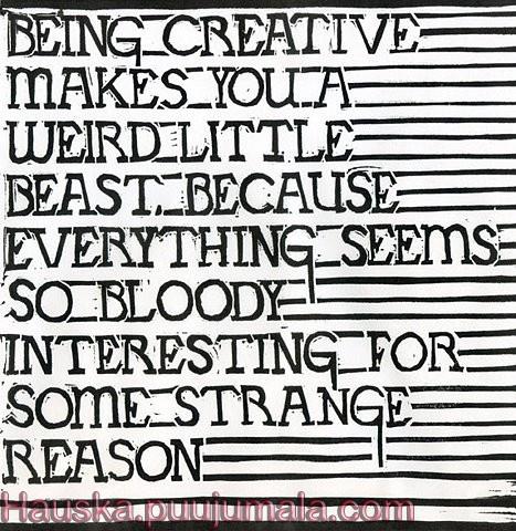 Being Creative : Mark Andrew Webber