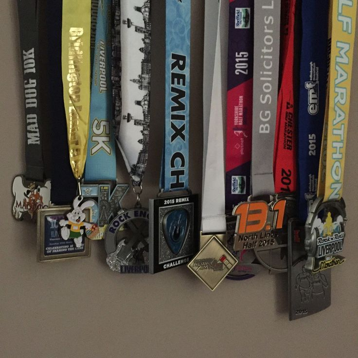 Article on my blog called 'Are race medals worth the effort?' - RichLord.co.uk