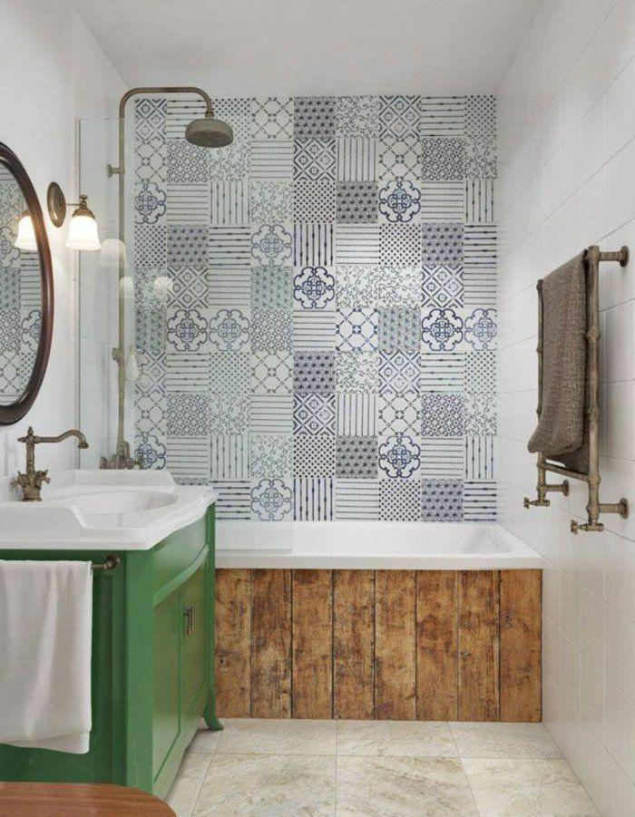 Les 25 meilleures id es de la cat gorie recouvrir carrelage sur pinterest carreaux mosaique for Plaque renovation salle de bain