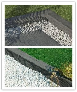 1000 ideas about pierre reconstitu e on pinterest grosfillex carrelage de - Bordure ardoise point p ...