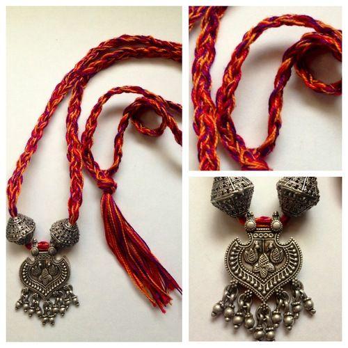 rajasthani silver pendant ☆ #bohochic
