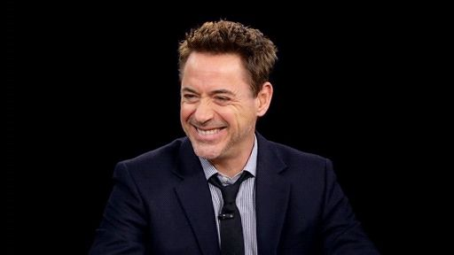 "luvindowney: "" Robert Downey Jr at the Charlie Rose Show (x) """