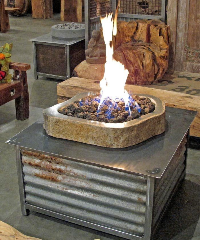 Diy Propane Fire Table