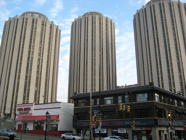 University of Pittsburgh student housing towers