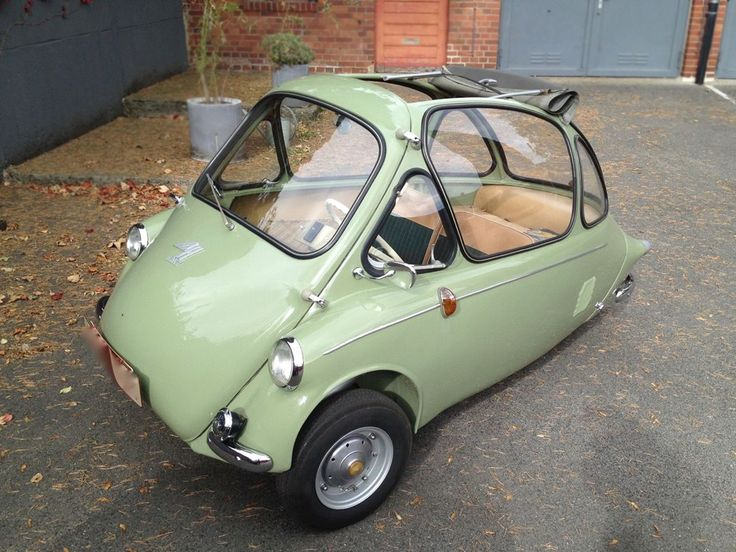 Mind-Blowing Original! 1956 Heinkel Kabine 150 - http://barnfinds.com/mind-blowing-original-1956-heinkel-kabine-150/