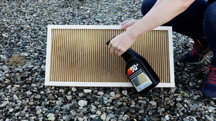 HowTo Clean Your K&N Home Air Filter [Video] in 2020