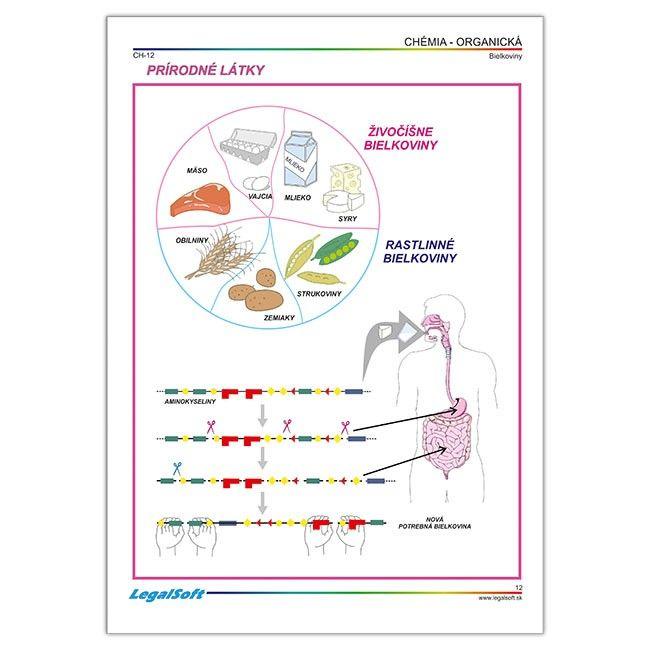 CHÉMIA - organická - Chémia - Prírodné vedy - Učebné pomôcky