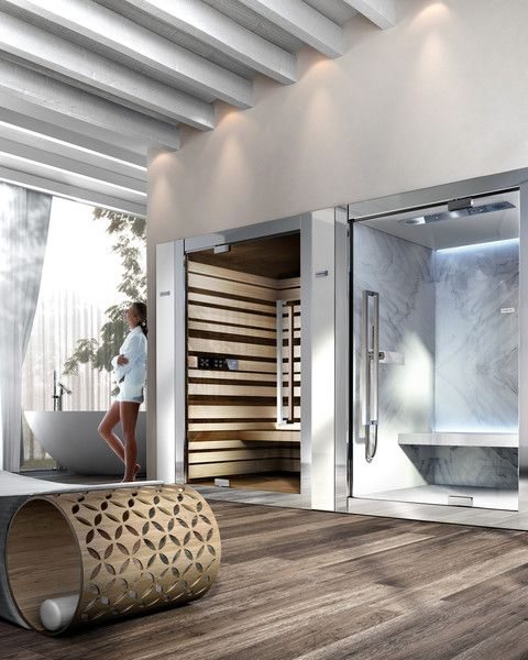 Sweet Spa Steam Room and Sweet Spa Sauna