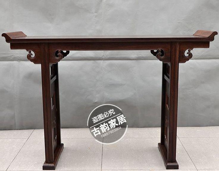 Dongyang móveis de mogno madeira de ébano altar Alice cabeça de piano de mogno mesa de Taiwan de buda(China (Mainland))