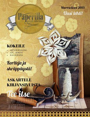 Other Publications: Paperilla -lehti nro1, $17.60 from HP MagCloud
