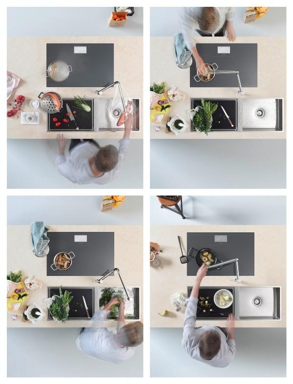 Pivot by @Dornbracht    #design Sieger Design #kitchen