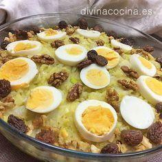 El atascaburras es un plato de invierno típico de las provincias de Cuenca y Albacete. Lo normal es que si el bacalao está desalado al punto no tengas que añadir sal pero prueba y rectifica si es necesario.