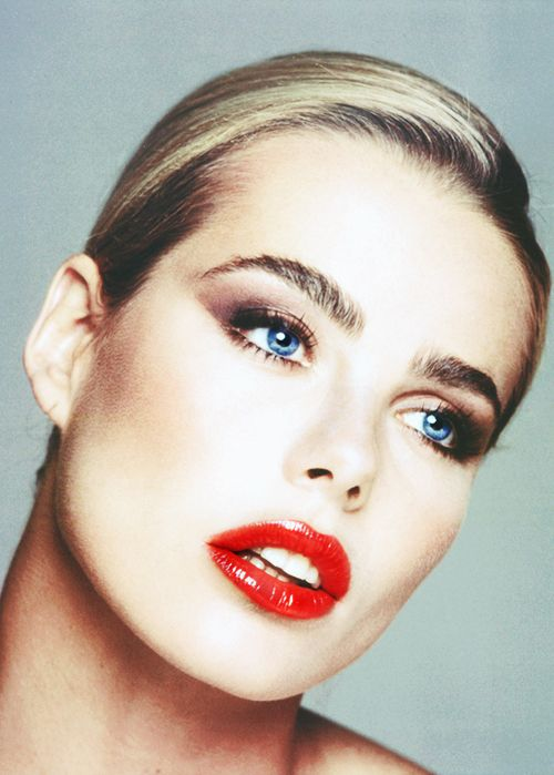 Margaux Hemingway by Francesco Scavullo for Lipstick directed by Lamont Johnson, 1976