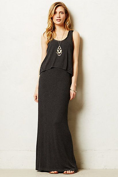 Tiered Maxi Dress - anthropologie.com