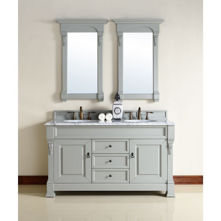 James Martin Furniture 60 Inch Double Sink Vanity in