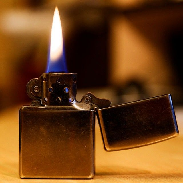 Zippo Lighter Fan Photo By Instagram User Mark Ka